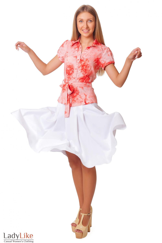 Купить пышную юбку с карманами Деловая женская одежда