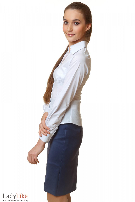 Купить Белую Блузку Для Офиса В Москве