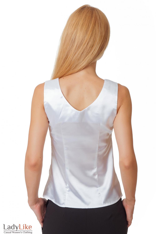 Блузка с глубоким декольте с доставкой