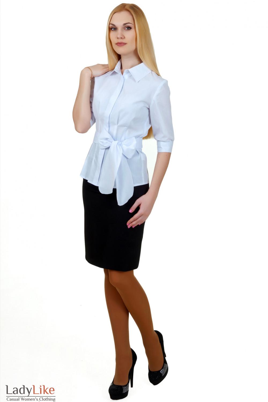 Блузки Для Юбки С Завышенной Талией