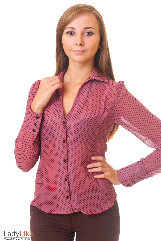 Блузка Розовая С Доставкой
