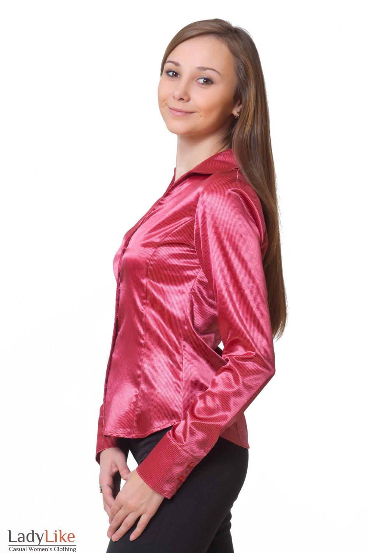 Купить атласную блузку Деловая женская одежда