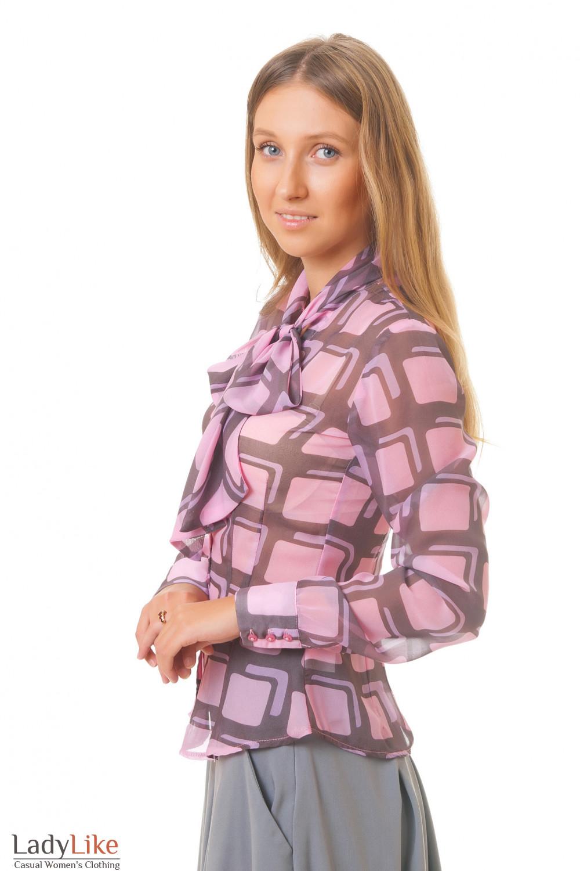 Купить блузку облегающего кроя Деловая женская одежда