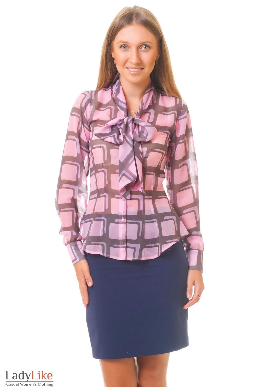 Купить костюм с блузкой Деловая женская одежда