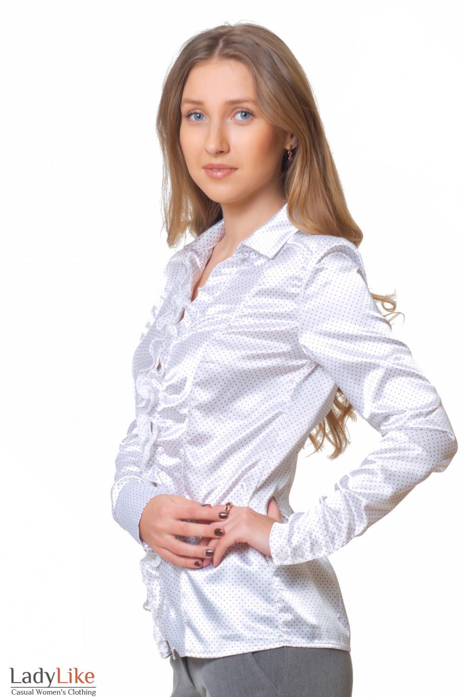 Купить атласную нарядную блузку Деловая женская одежда