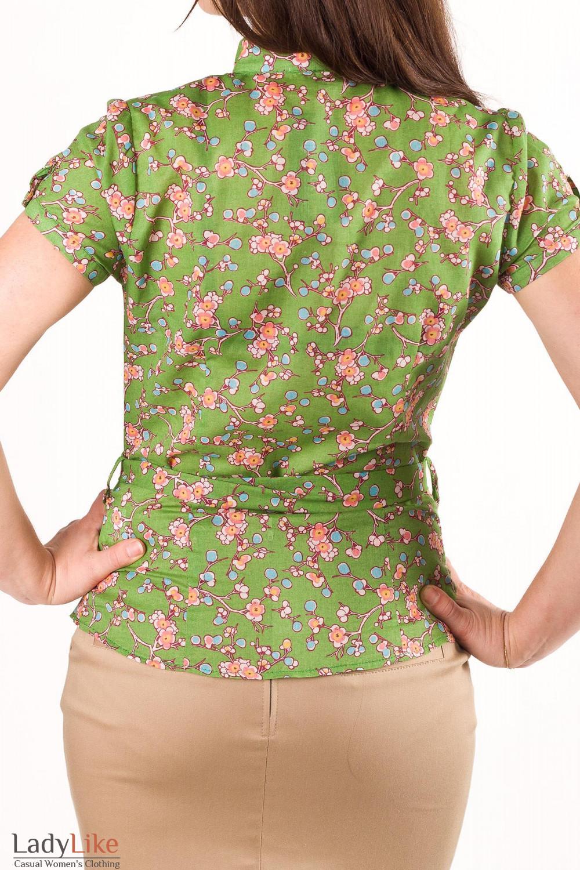 Фото Блузка из хлопка Деловая женская одежда