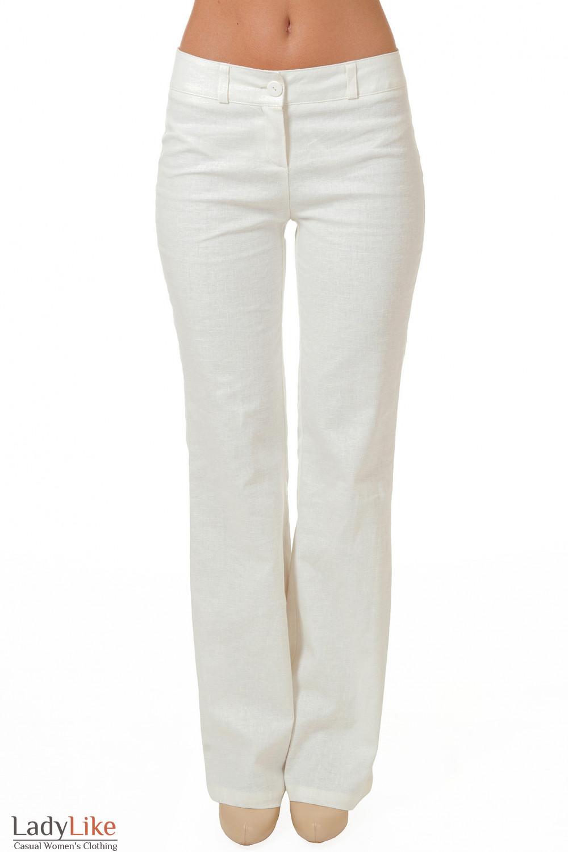 Купить белые брюки Деловая женская одежда