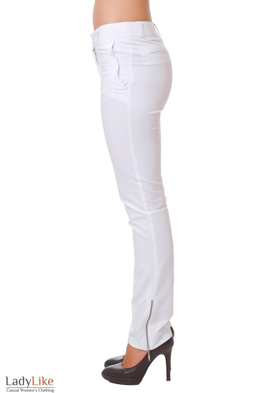 Купить брюки с замочками Деловая женская одежда