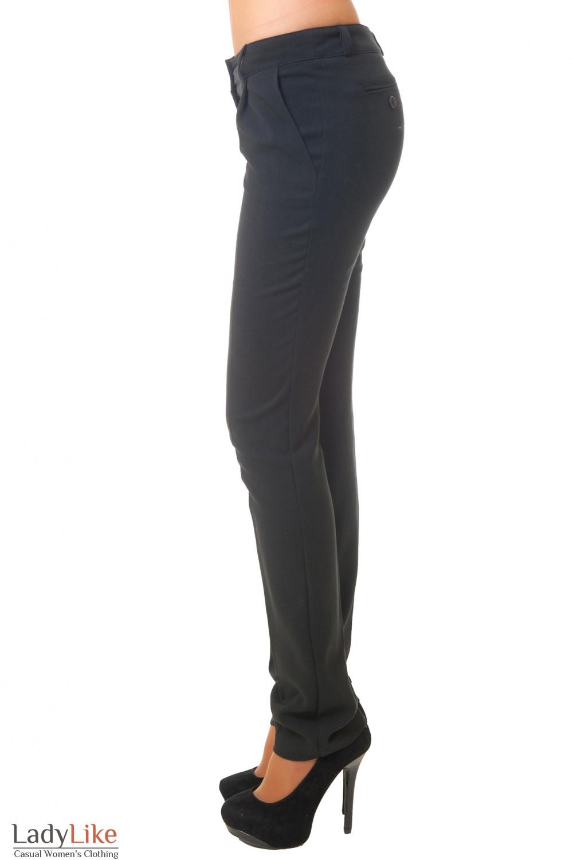 Купить черные зауженные брюки Деловая женская одежда