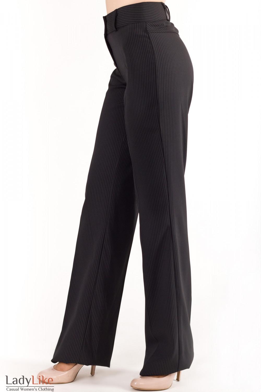 Купить брюки в полоску Деловая женская одежда