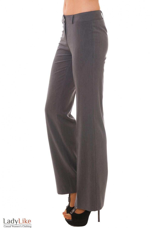 Купить серые брюки Деловая женская одежда