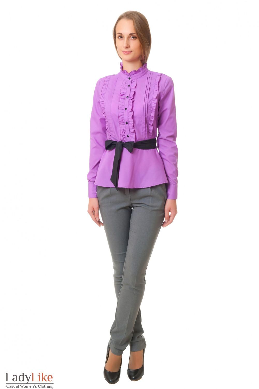 Блузка Фиолетовая В Новосибирске