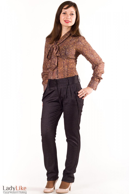 Фото Брюки зауженные Деловая женская одежда