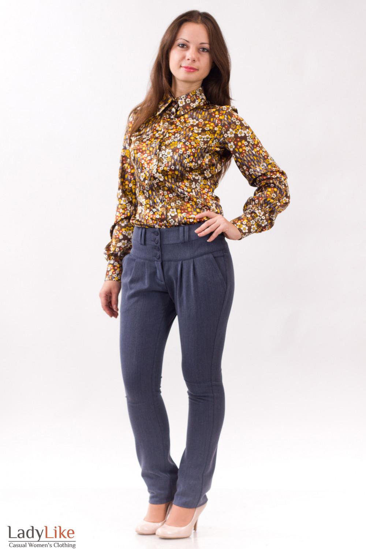 Фото Брюки зима Деловая женская одежда