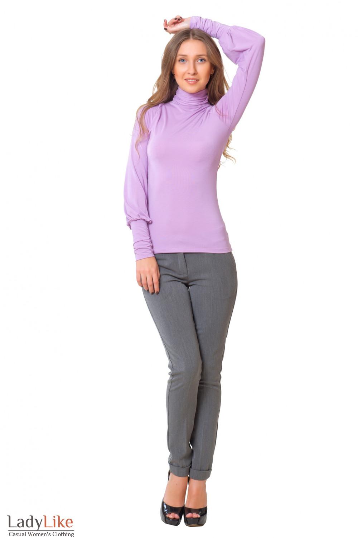 Купить гольф с теплыми брюками Деловая женская одежда