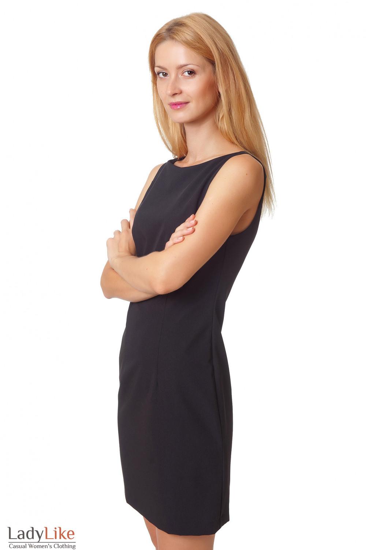 Купить черное платье Деловая женская одежда