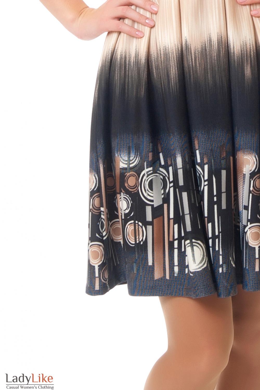 Рисунок платья Деловая женская одежда