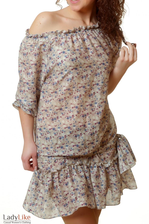 Купить легкое летнее платье Деловая женская одежда