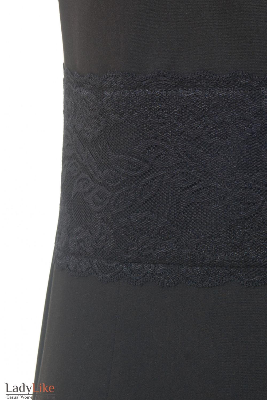 Кружево на платье Деловая женская одежда