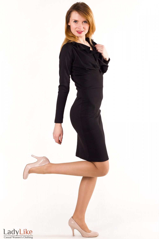 Купить платье черное Деловая женская одежда