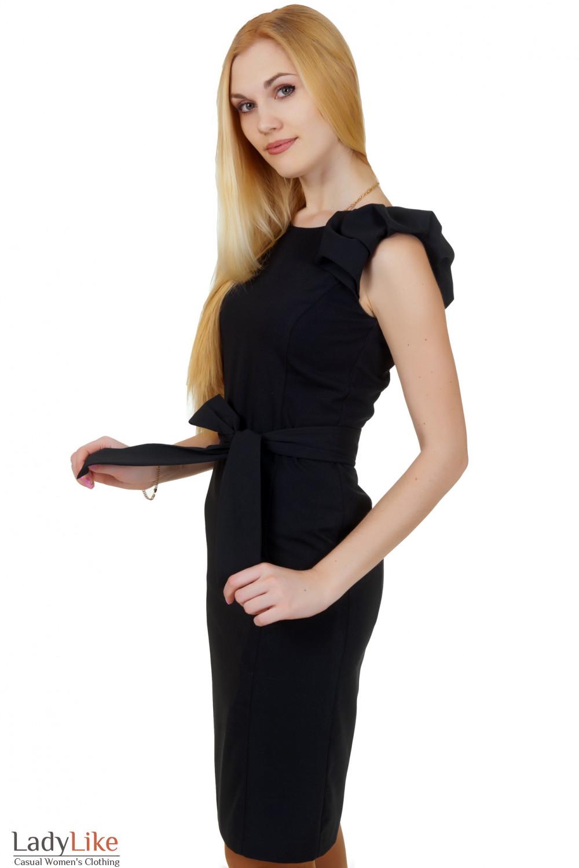 Купить вечернее черное платье Деловая женская одежда