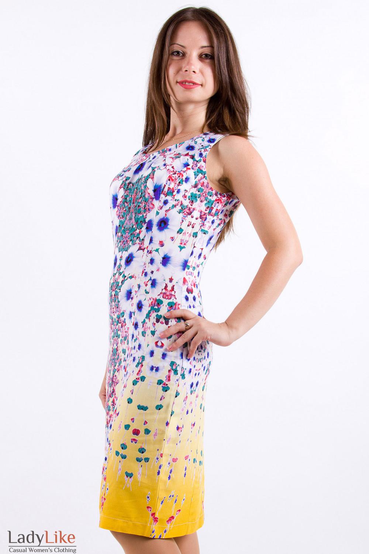 Фото Легкое платьеце Деловая женская одежда