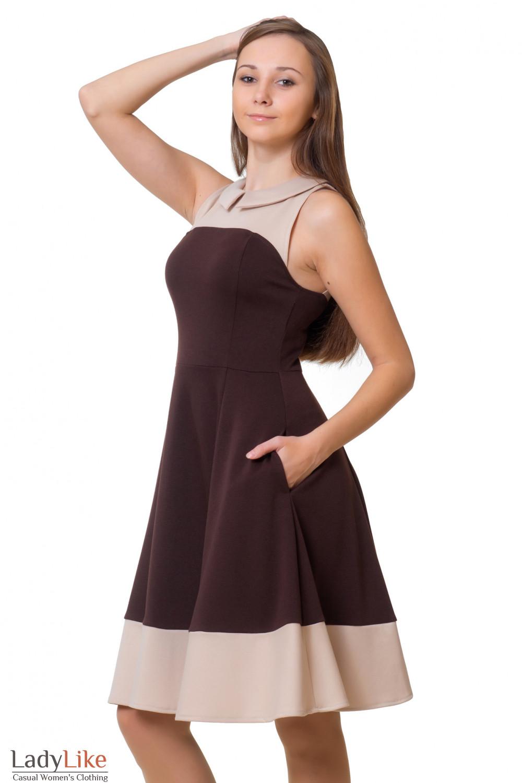 Коричневое Платье Доставка