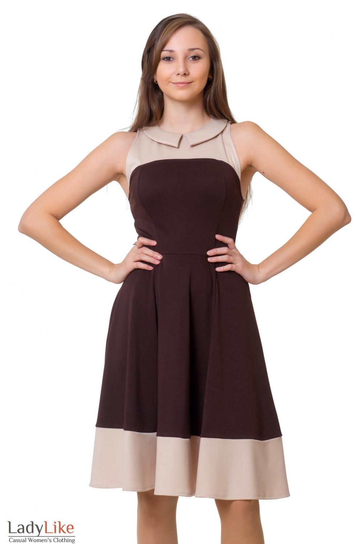 Купить платье без рукавов Деловая женская одежда