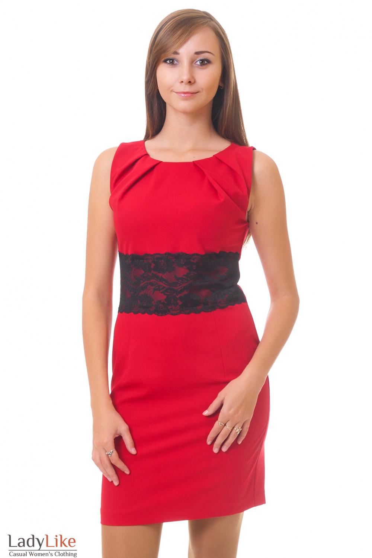 Купить красное платье Деловая женская одежда