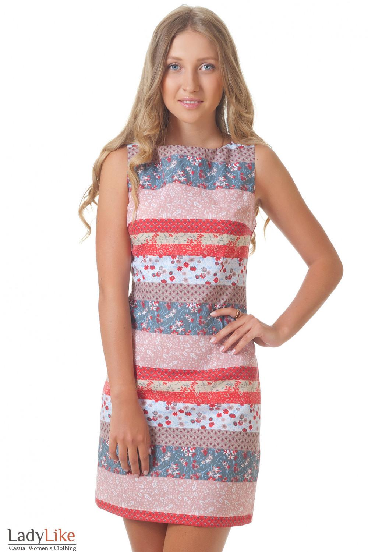 Купить летнее приталенное платье Деловая женская одежда