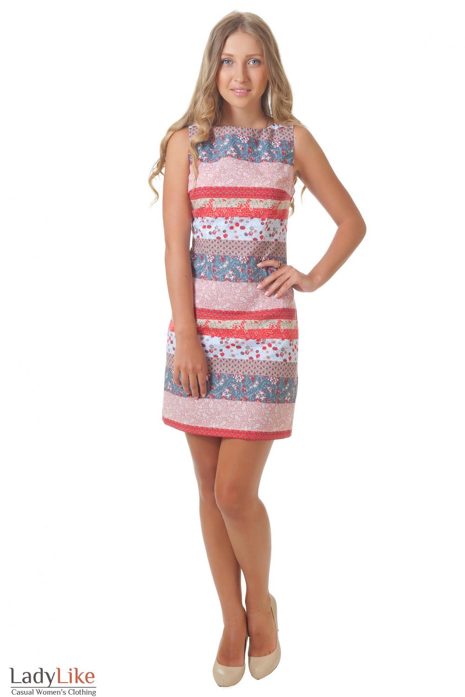 Купить платье в полоску Деловая женская одежда