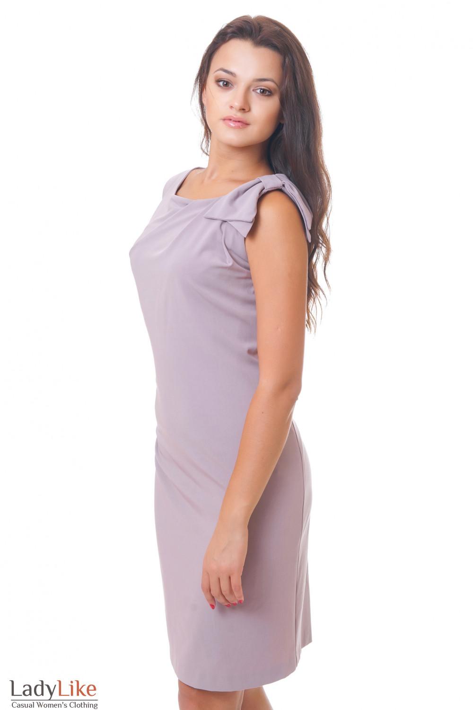 Купить платье с бантиком Деловая женская одежда