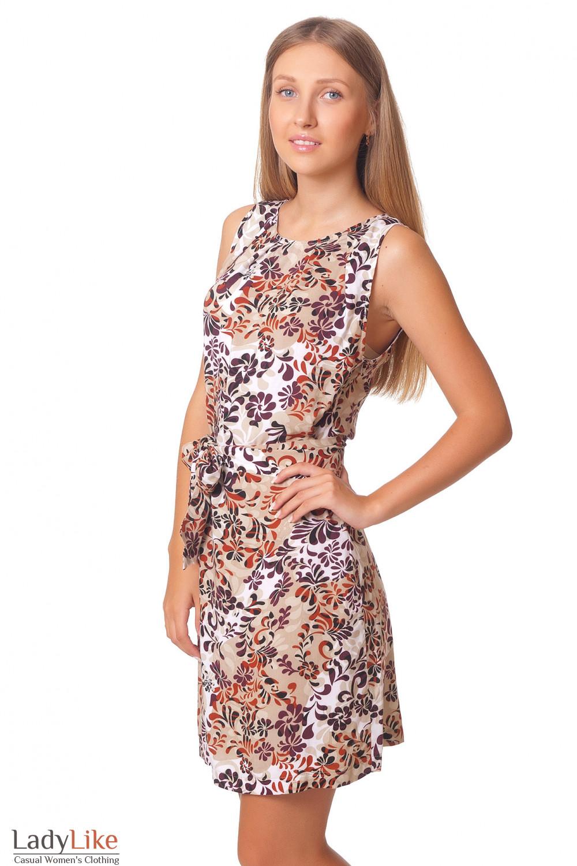 Купить летнее просторное платье Деловая женская одежда