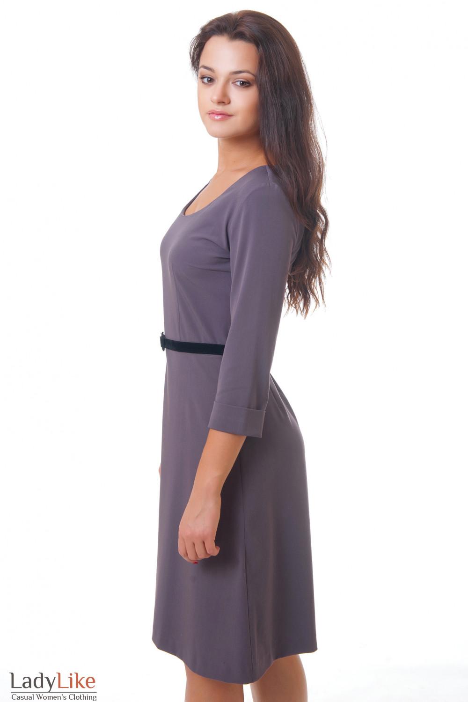 Купить платье сиреневое Деловая женская одежда