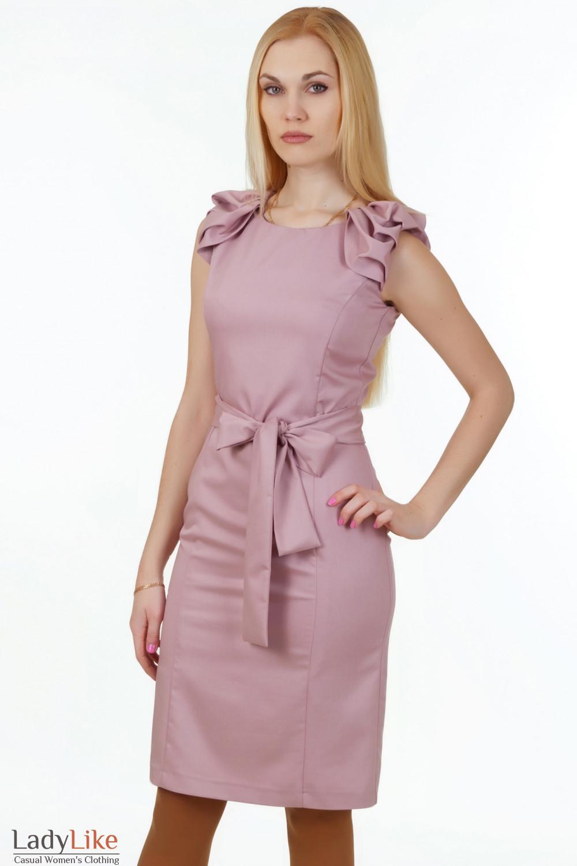 Купить розовое вечернее платье Деловая женская одежда