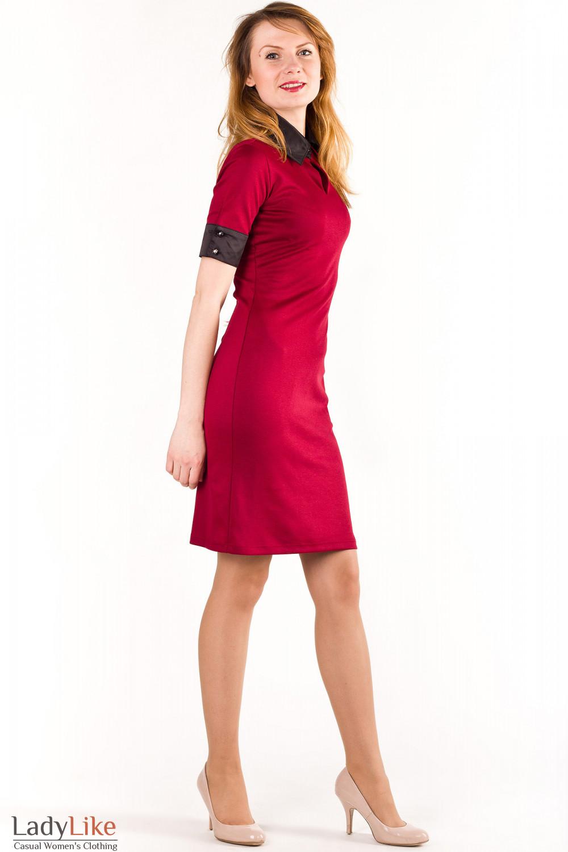Купить платье трикотажное Деловая женская одежда