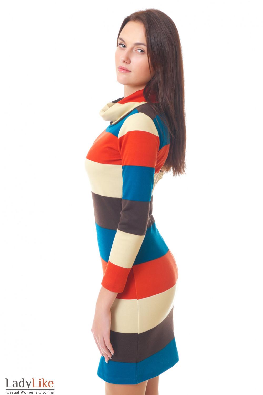 Купить теплое платье Деловая женская одежда
