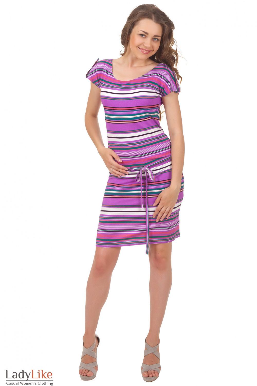 Купить летнее трикотажное платье Деловая женская одежда