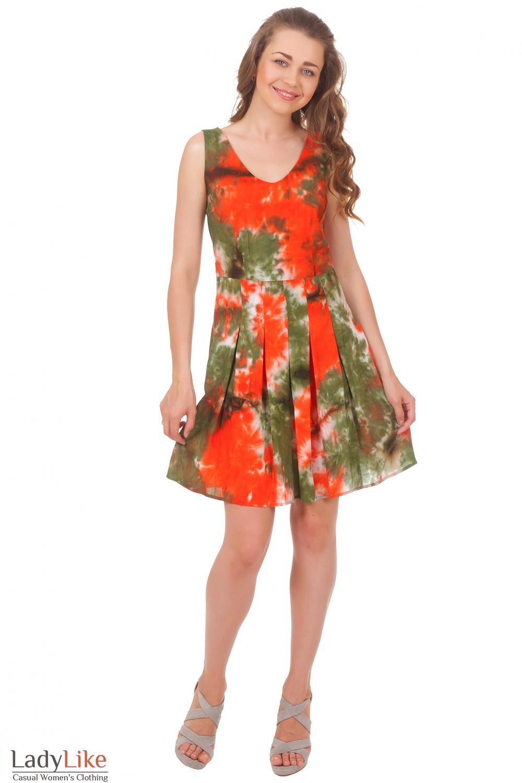 Купить летнее зеленое платье Деловая женская одежда