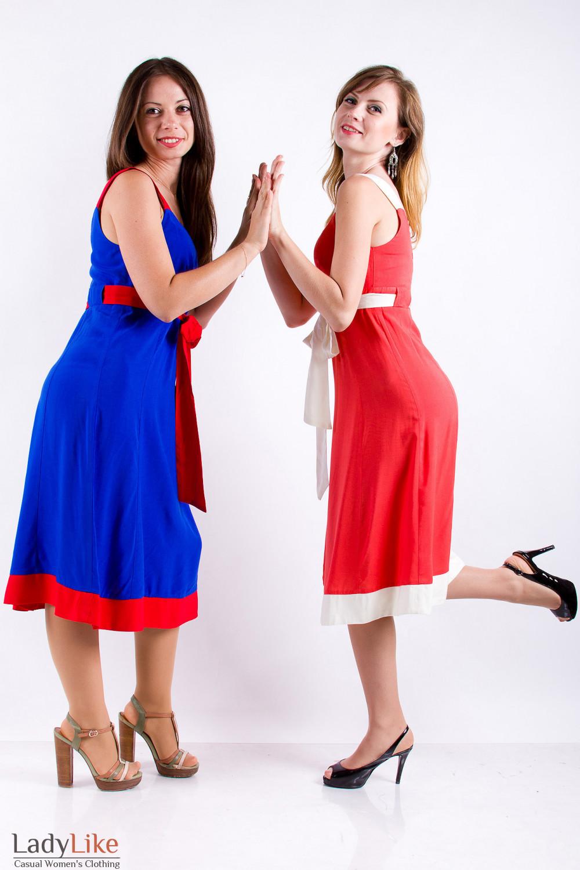 Фото Летний сарафан Деловая женская одежда