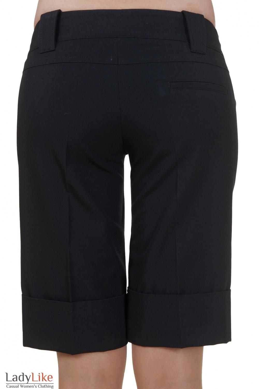 Шорты черные Деловая женская одежда