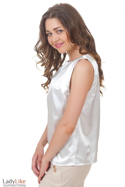 Купить белый топ Деловая женская одежда