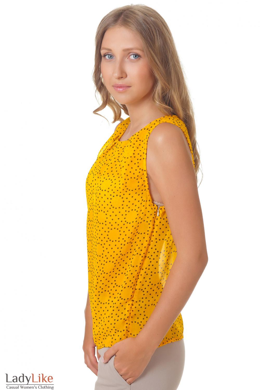 Купить желтую майку Деловая женская одежда