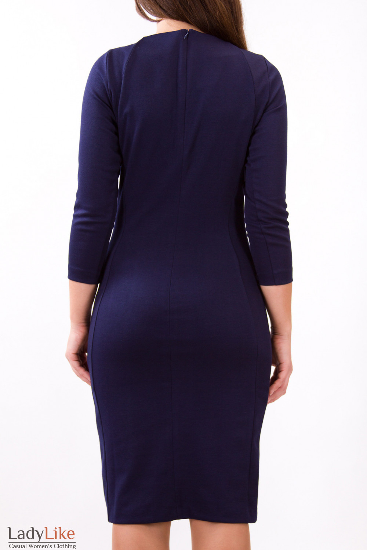 Фото Платье в горох Деловая женская одежда