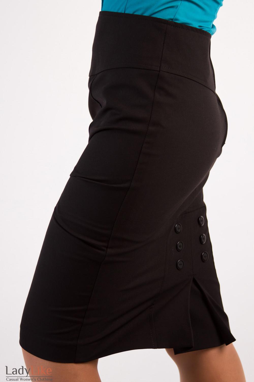 Фото Юбка с высокой посадкой Деловая женская одежда
