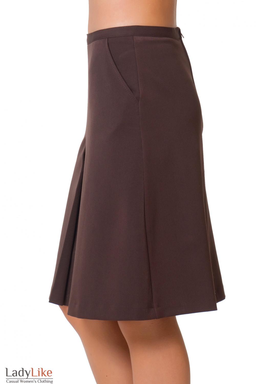 Купить теплую юбку с карманами Деловая женская одежда