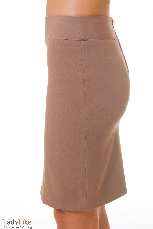 Купить классическую бежевую юбку Деловая женская одежда