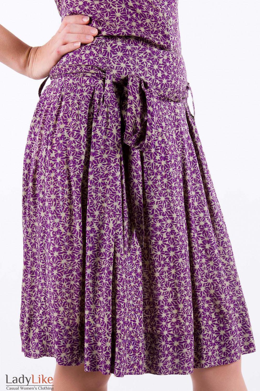 Фото Юбка со складками Деловая женская одежда