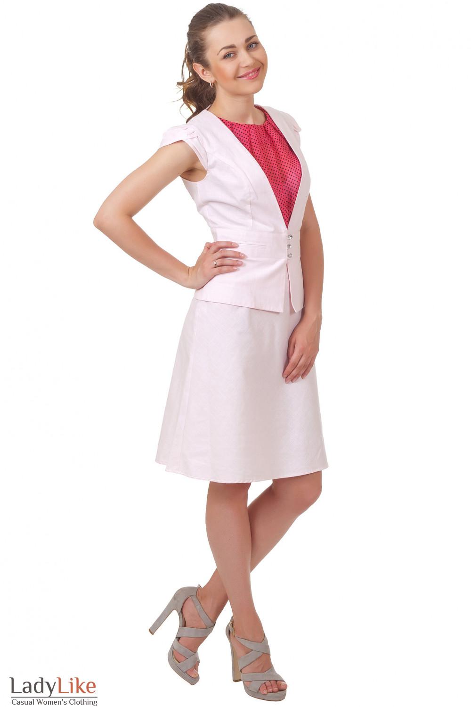 Купить юбку-трапецию Деловая женская одежда