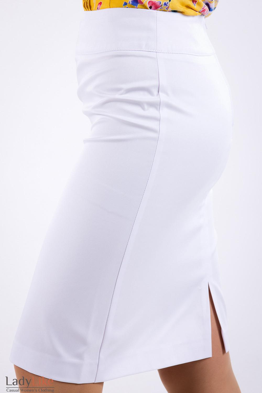 Фото Юбка из хлопка Деловая женская одежда
